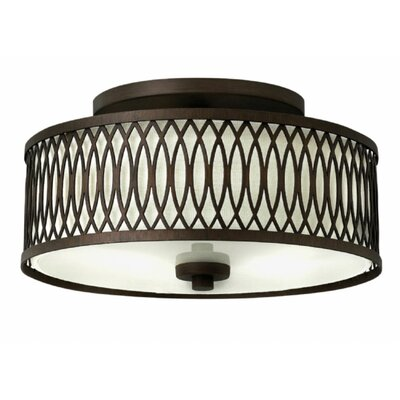 Walden 3-Light Semi Flush Mount