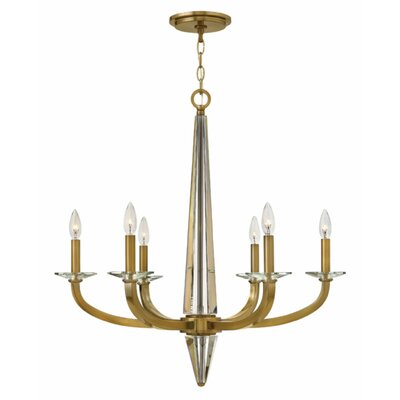 Ascher 6-Light Candle-Style Chandelier