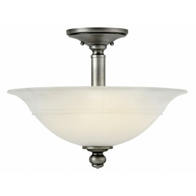 Plymouth 3-Light Semi Flush Mount