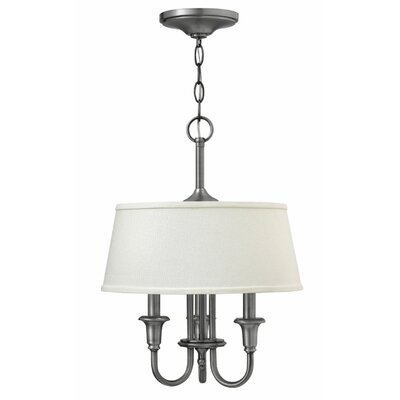 Webster 3-Light Drum Pendant Finish: Oil Rubbed Bronze