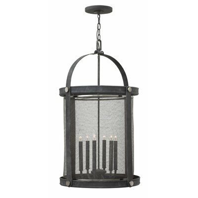 Holden 6-Light Foyer Pendant Finish: Aged Zinc