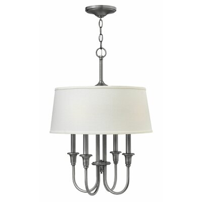 Webster 4-Light Drum Pendant Finish: Oil Rubbed Bronze