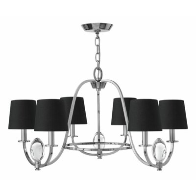 Marielle 6-Light Shaded Chandelier