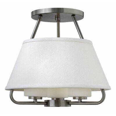Cole 3-Light Semi Flush Mount