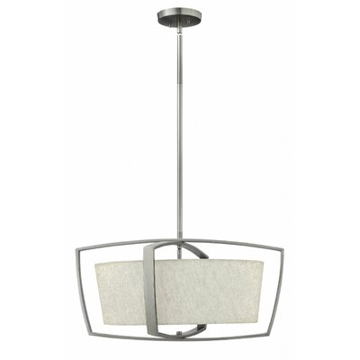 Blakely 4-Light Drum Pendant Finish: Brushed Nickel