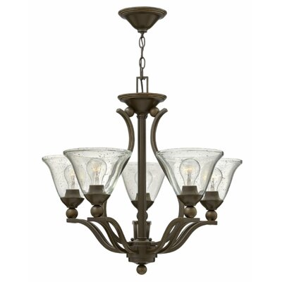 Bolla 5-Light Shaded Chandelier