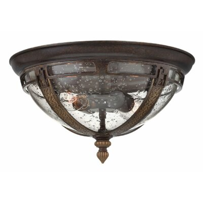 Key West 2-Light Outdoor Flush Mount
