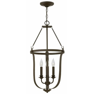 Cleadon 3-Light Foyer Pendant