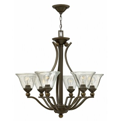 Bolla 6-Light Shaded Chandelier
