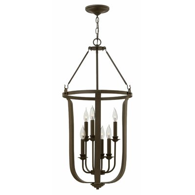 Cleadon 6-Light Foyer Pendant
