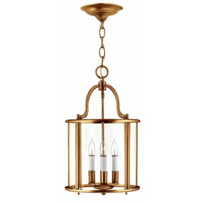Robles 4-Light Foyer Pendant Finish: Heirloom Brass