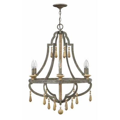 Cordoba 6-Light Candle-Style Chandelier