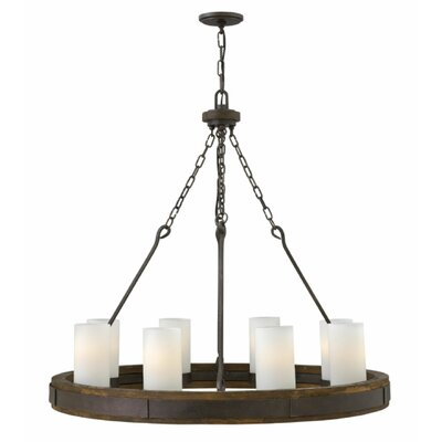 Claypool 8-Light Candle-Style Chandelier