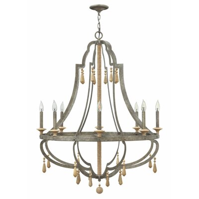 Cordoba 8-Light Candle-Style Chandelier