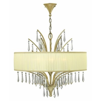 Camilla 6-Light Drum Pendant
