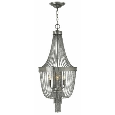 Regis 3-Light Foyer Pendant