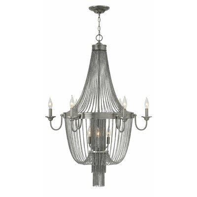 Regis 9 Light Candle Chandelier