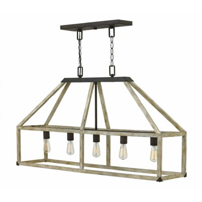 Emilie 5-Light Kitchen Island Pendant