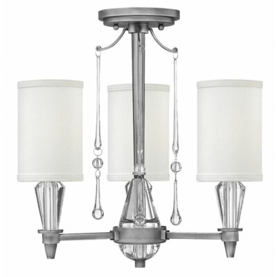 Bentley 3-Light Shaded Chandelier