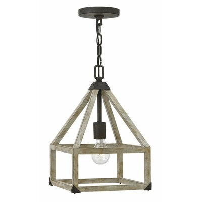Emilie 1-Light Foyer Pendant