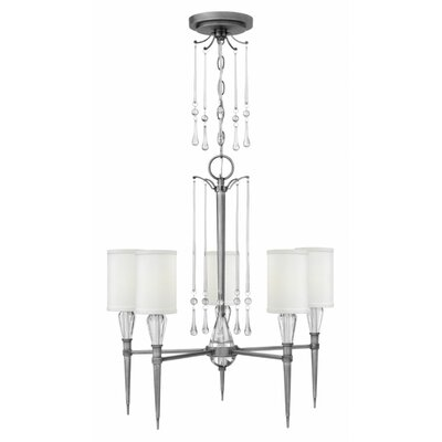 Bentley 5-Light Candle-Style Chandelier
