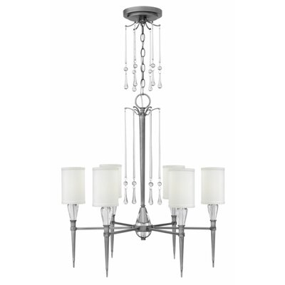 Bentley 6-Light Shaded Chandelier
