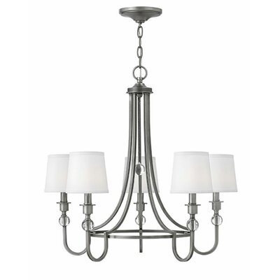 Morgan 5-Light Shaded Chandelier