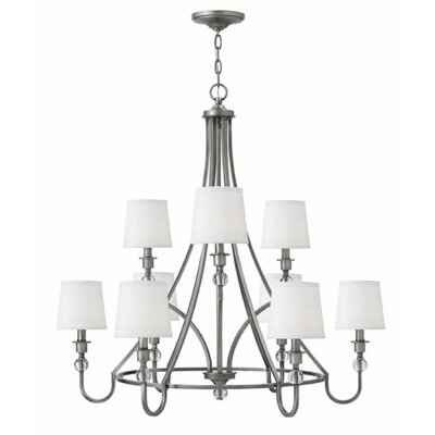 Morgan 9-Light Shaded Chandelier