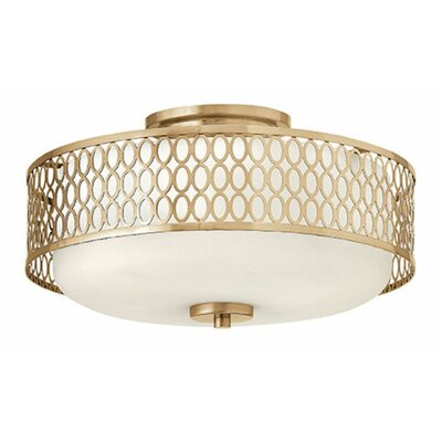 Jules 3-Light Semi Flush Mount
