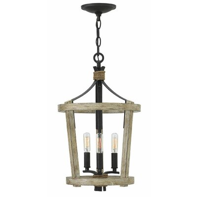 Sherwood 3-Light Foyer Pendant