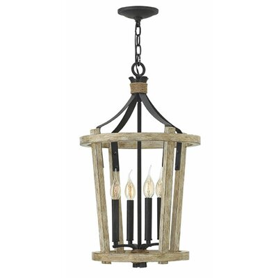 Sherwood 4-Light Foyer Pendant