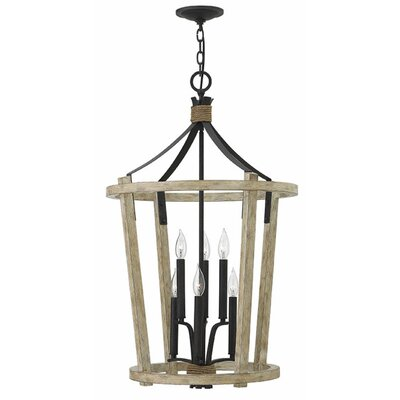 Sherwood 6-Light Foyer Pendant