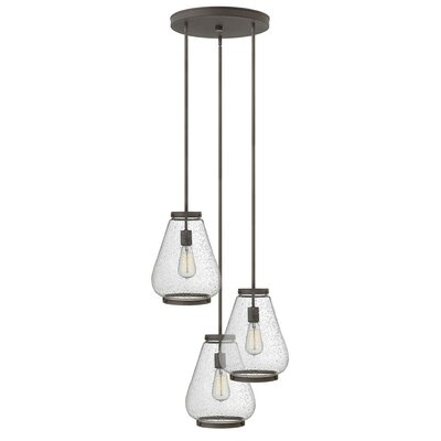 Finley 3-Light Pendant Finish: Oil Rubbed Bronze