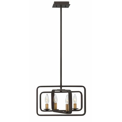Quentin 4-Light Foyer Pendant