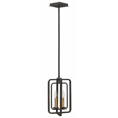 Fernand 2-Light Foyer Pendant