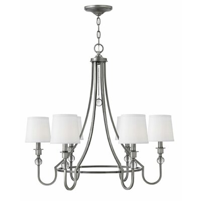 Morgan 6-Light Candle-Style Chandelier