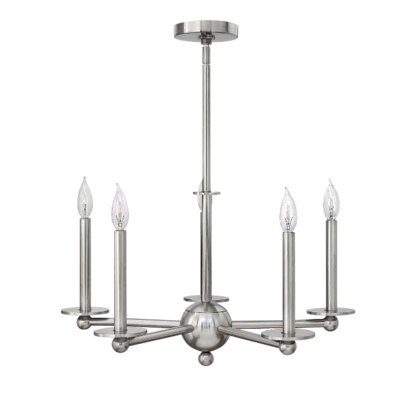 Piedmont 5-Light Candle-Style Chandelier