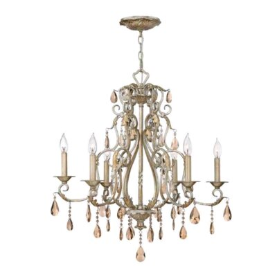 Carlton 6-Light Candle-Style Chandelier