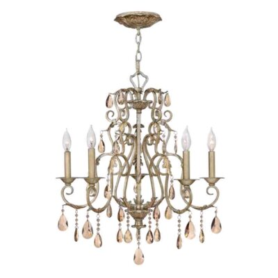 Carlton 5-Light Crystal Chandelier