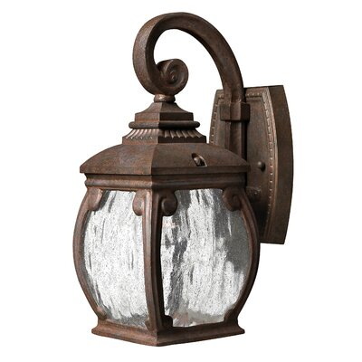 Forum 1-Light Outdoor Wall Lantern