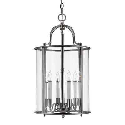 Robles 6-Light Foyer Pendant Finish: Pewter