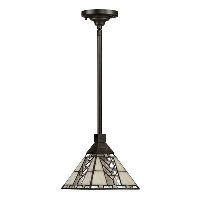 Westberry 1-Light Mini Pendant Finish: Steel Construction