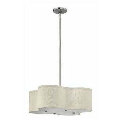 Cirrus 4-Light Foyer Pendant Size: 12 H x 20 W x 20 D