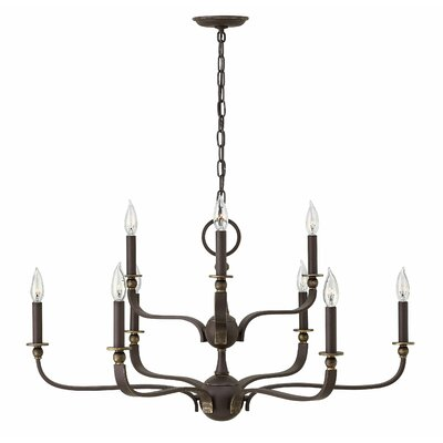 Ruthorford 9-Light Candle-Style Chandelier