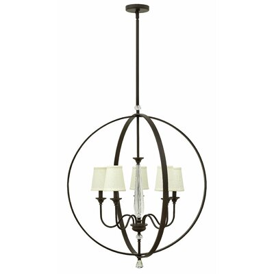 Waverly 5-Light Globe Pendant