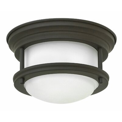 Byford 1-Light Flush Mount Finish: Oil Rubbed Bronze