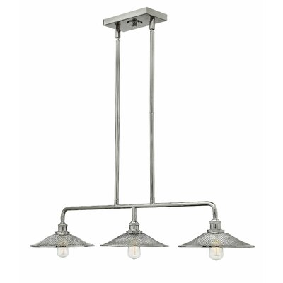 Rigby 3-Light Kitchen Island Pendant Finish: Polished Nickel