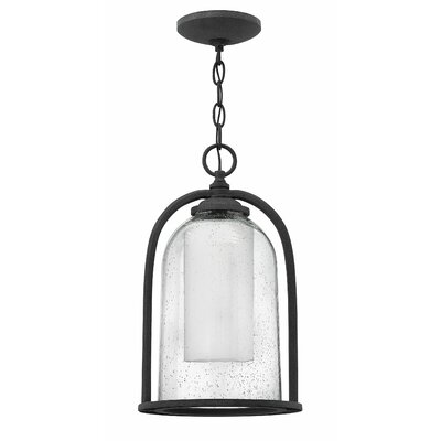 Ardean 1-Light Outdoor Foyer Pendant Bulb Type: Incandescent