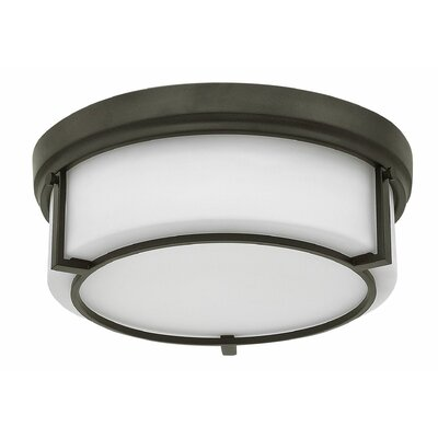 Weston 3-Light Flush Mount Finish: Buckeye Bronze
