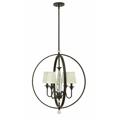 Waverly 4-Light Globe Pendant